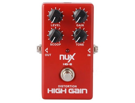 Effect NUX HG-6 Distortion (ของใหม่)