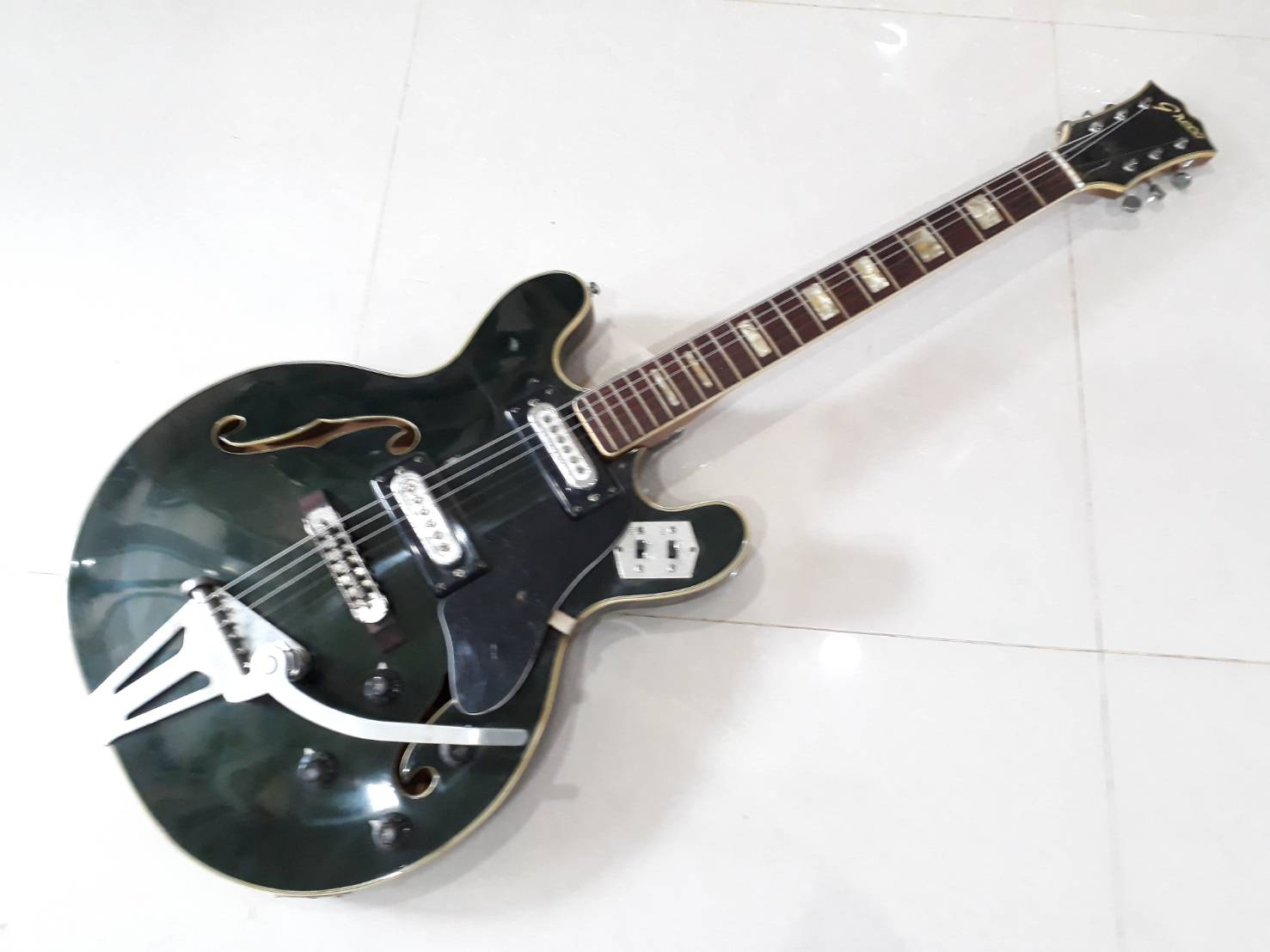 Greco semi hollow Vintage japan 1960s