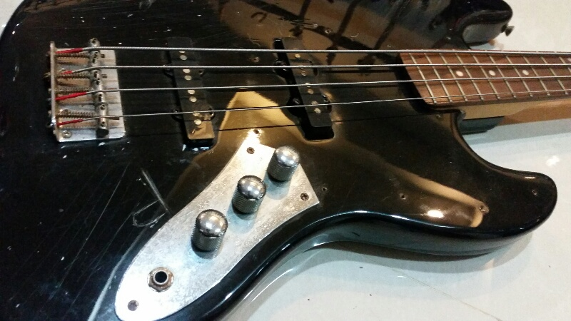 Photogenic jazz bass bk