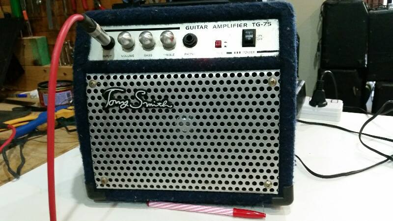 tony smith TG 75 mini amp